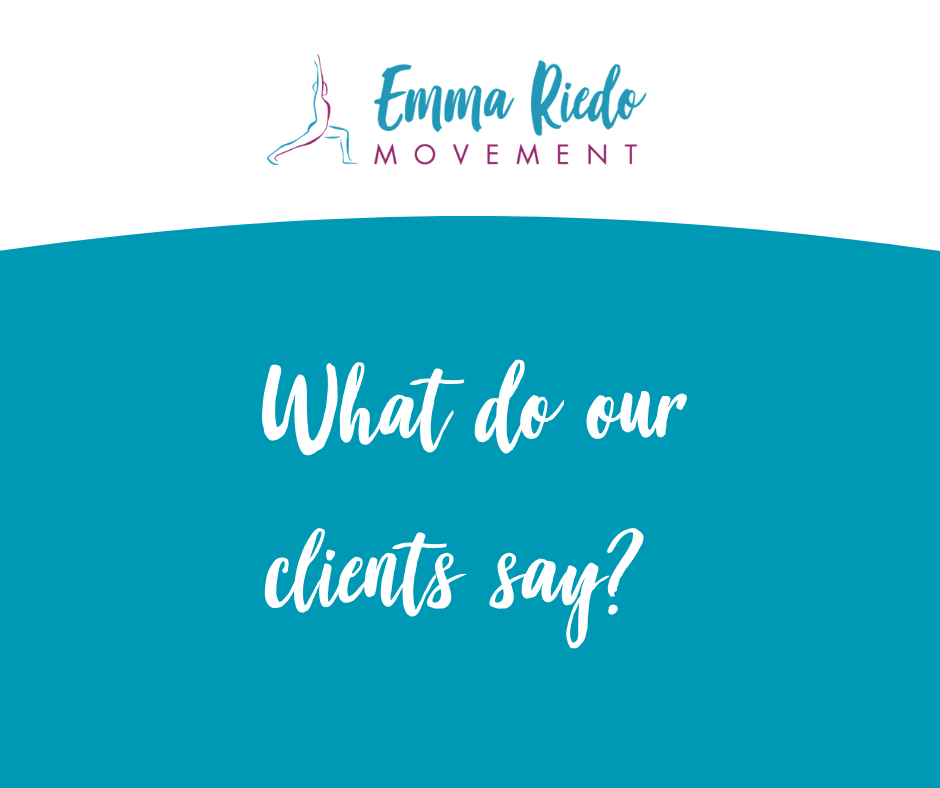 What do our clients say blue?